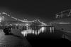 night in harbour